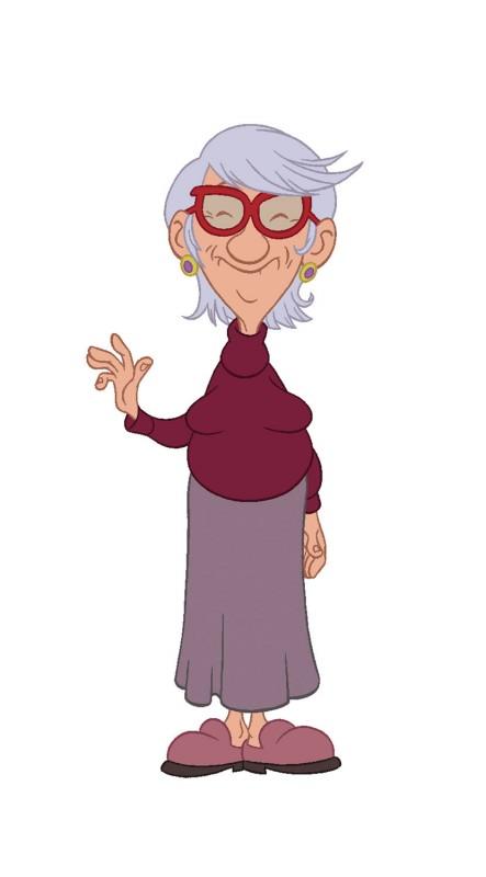 Titeuf, il film: la nonna di Titeuf una foto promozionale