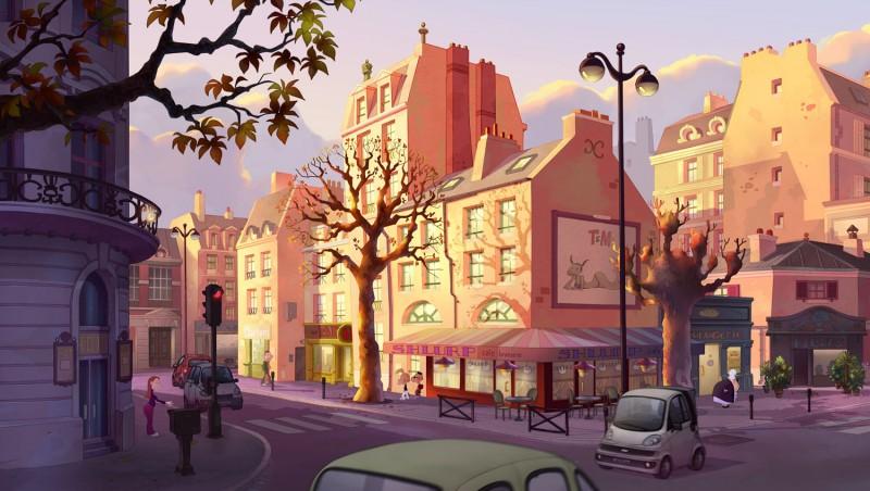 Titeuf, il film: una scena del film animato diretto da Zep