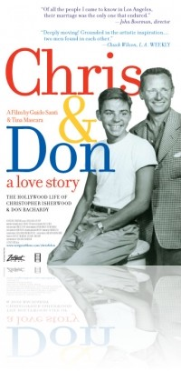 Chris & Don. A Love Story: la locandina del film