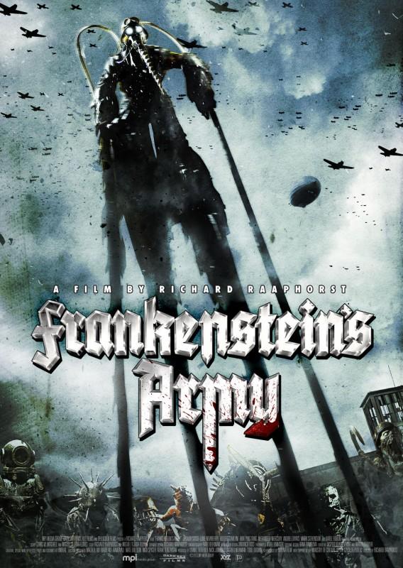 Frankenstein's Army: la locandina del film