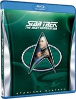 La copertina di Star Trek: The Next Generation - Stagione 4 (blu-ray)
