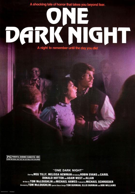 One Dark Night: la locandina del film