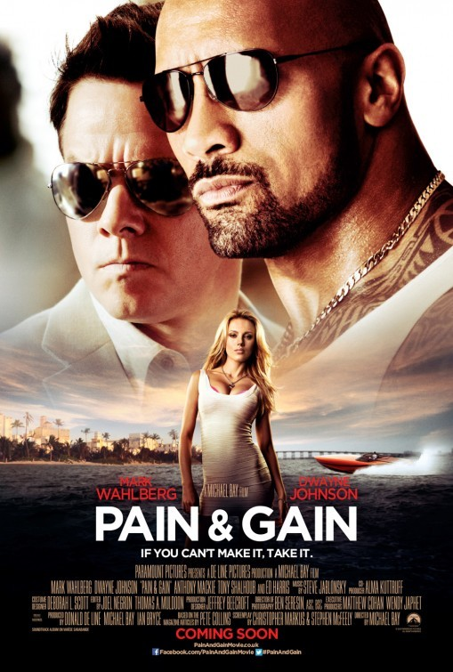 Pain and Gain: nuovo poster UK