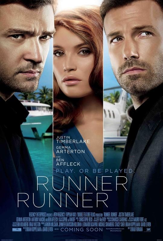 Runner, Runner: la locandina del film
