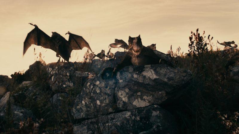 The Lost Dinosaurs: una scena dell'avventuroso film diretto da Sid Bennett