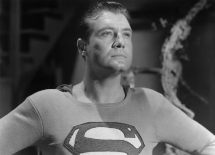 Adventures of Superman: George Reeves in una scena della serie