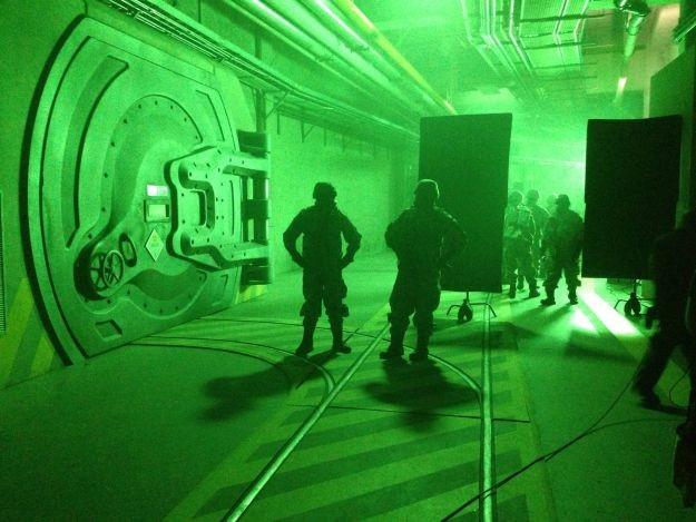 Godzilla: l'esercito irrompe nei laboratori