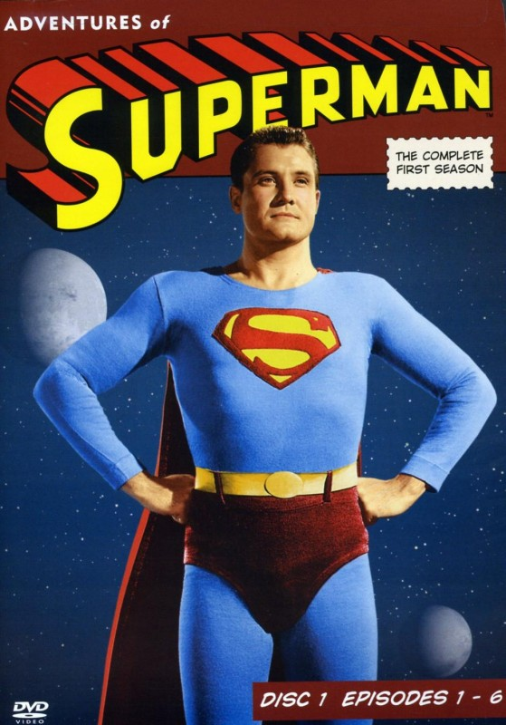 La locandina di Adventures of Superman
