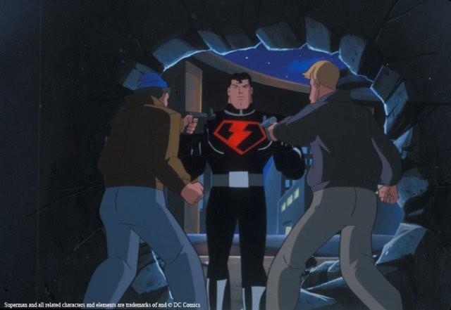 Le avventure di Superman: un'immagine della serie animata