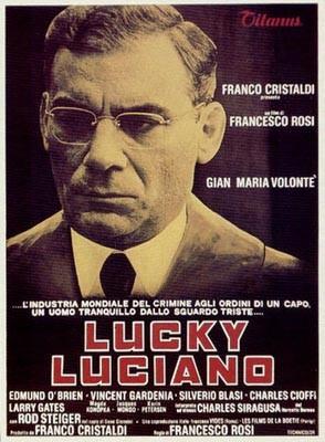 Lucky Luciano: la locandina del film