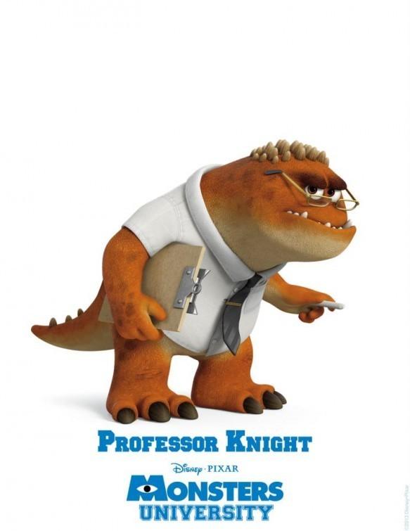 Monsters University - character poster del Professor Knight