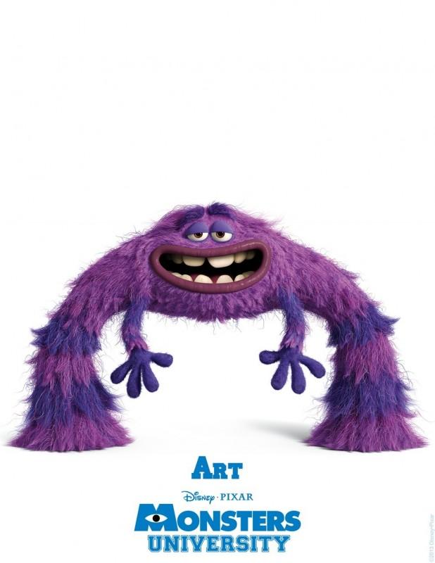 Monsters University - character poster di Art