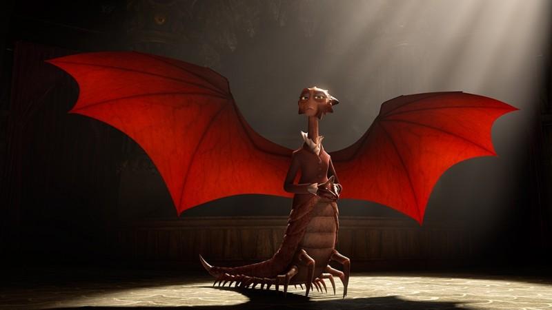 Monsters University: Dean Hardscrabble dispiega le sue ali