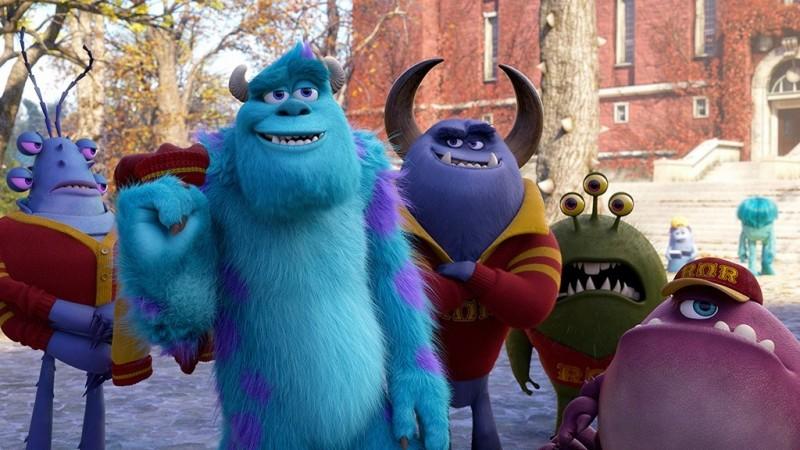 Monsters University: una immagine del film d'animazione