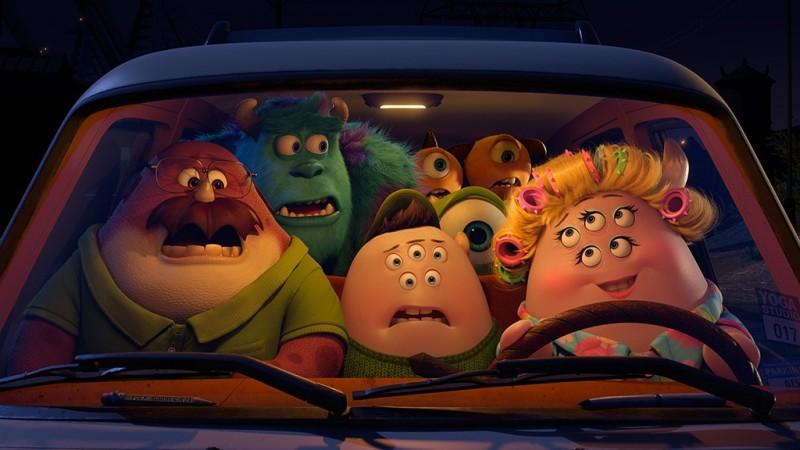 Monsters University: una scena del film d'animazione