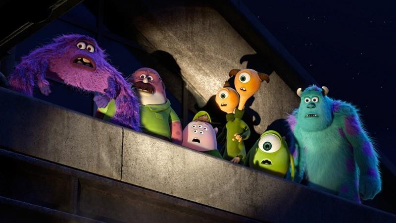 Monsters University: una scena del film d'animazione targato Disney