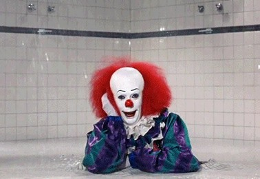 Tim Curry è Pennywise in IT