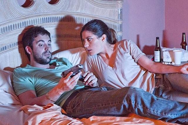 Dexter: Jennifer Carpenter e Rhys Coiro nell'episodio A Beautiful Day
