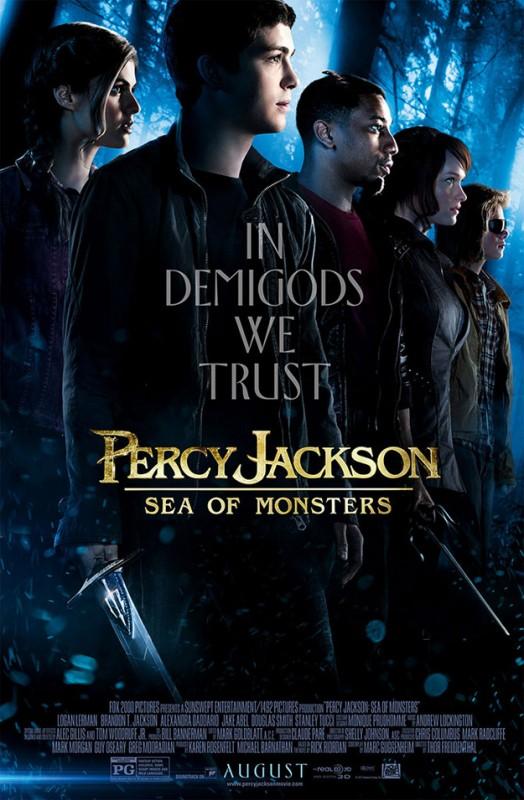 Percy Jackson e gli dei dell'olimpo: Il mare dei mostri: una nuova locandina