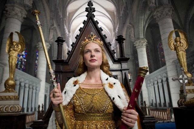 The White Queen: Rebecca Ferguson in una foto promozionale della serie