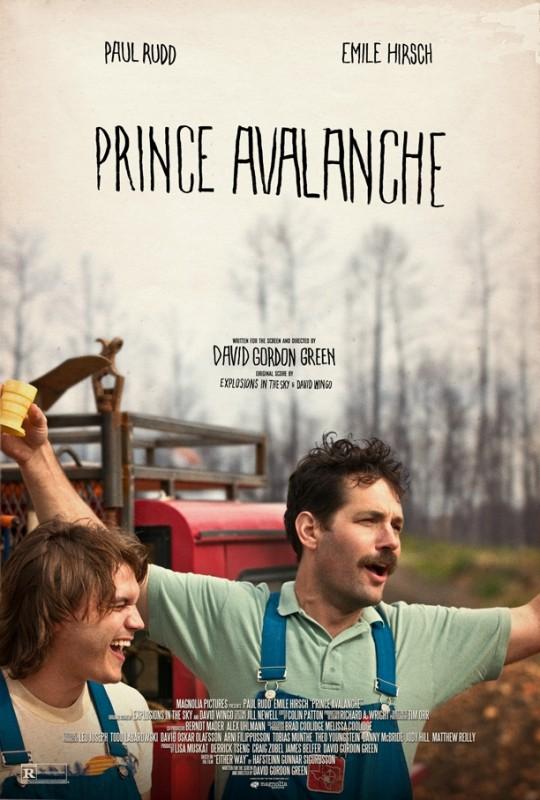 Prince Avalanche: la nuova locandina del film