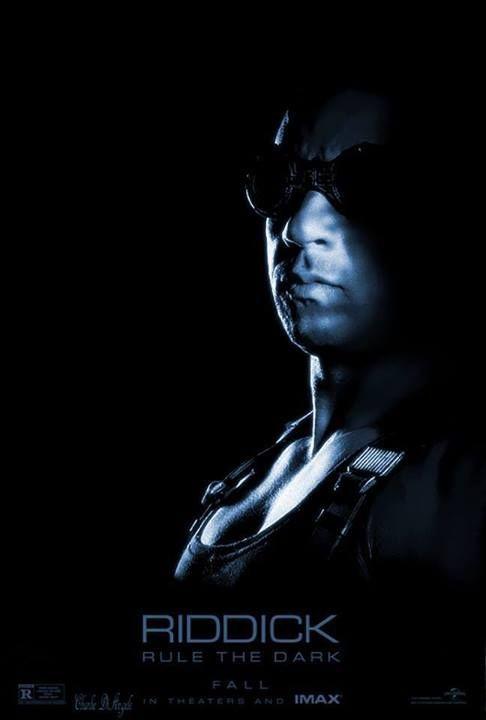 Riddick: la locandina IMAX del film