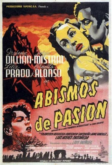 Abismos de pasión: la locandina del film