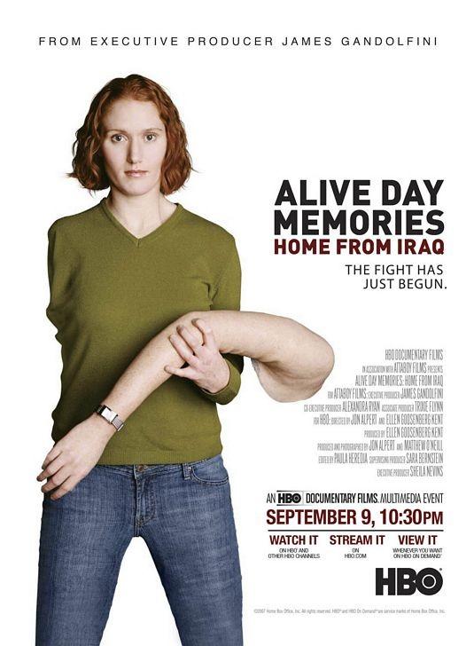 Alive Day Memories: Home from Iraq: la locandina del film