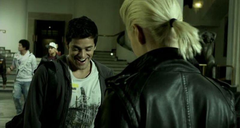 Crew2Crew - A un passo dal sogno: il protagonista Andres Londono in una scena del film