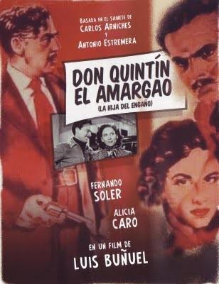 Don Quintin l'amargao: la locandina del film