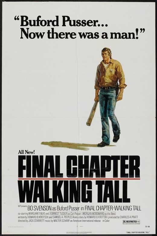 Final Chapter: Walking Tall: la locandina del film