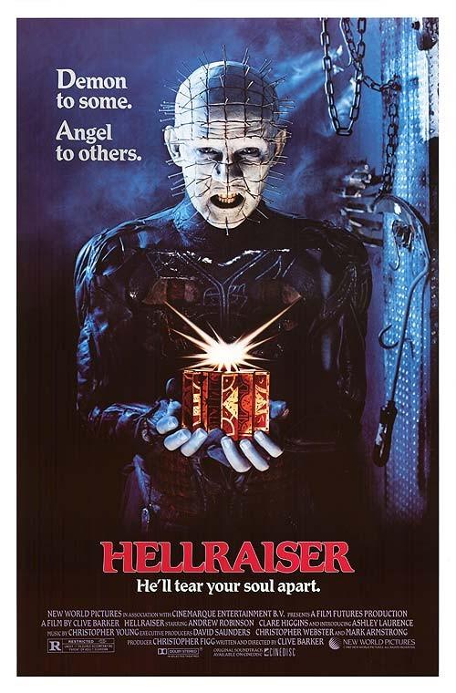 Hellraiser: locandina originale