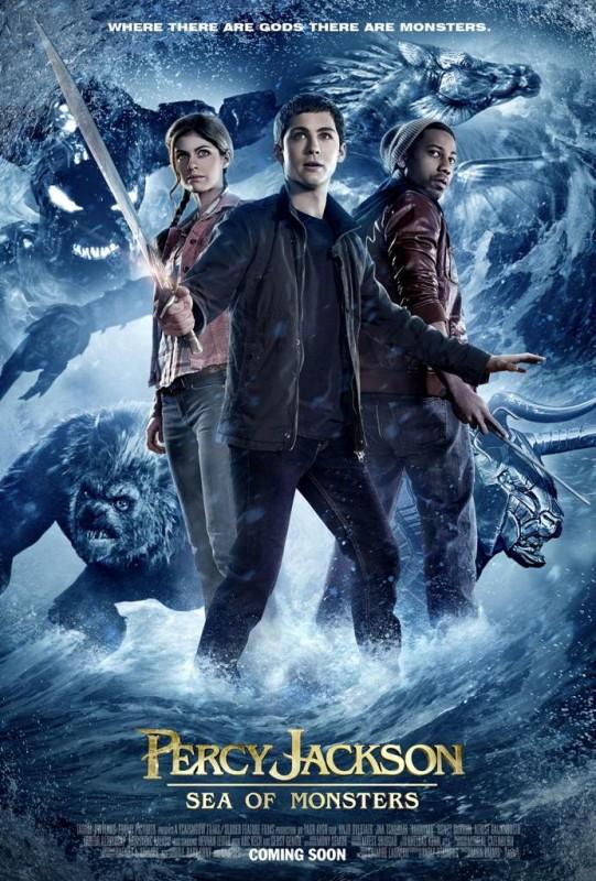 Percy Jackson e gli dei dell'olimpo: Il mare dei mostri: un nuovo poster