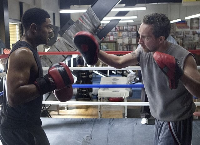 Ray Donovan: Eddie Marsan e Pooch Hall nell'episodio A Mouth Is a Mouth
