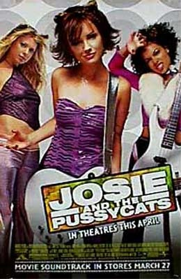 Josie and the Pussycats: la locandina del film