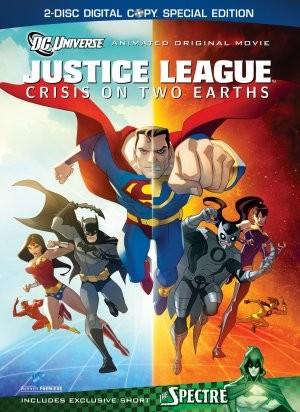 Justice League: Crisis on Two Earths: la locandina del film