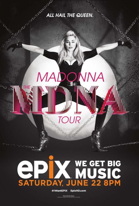 Madonna: The MDNA Tour: la locandina del film