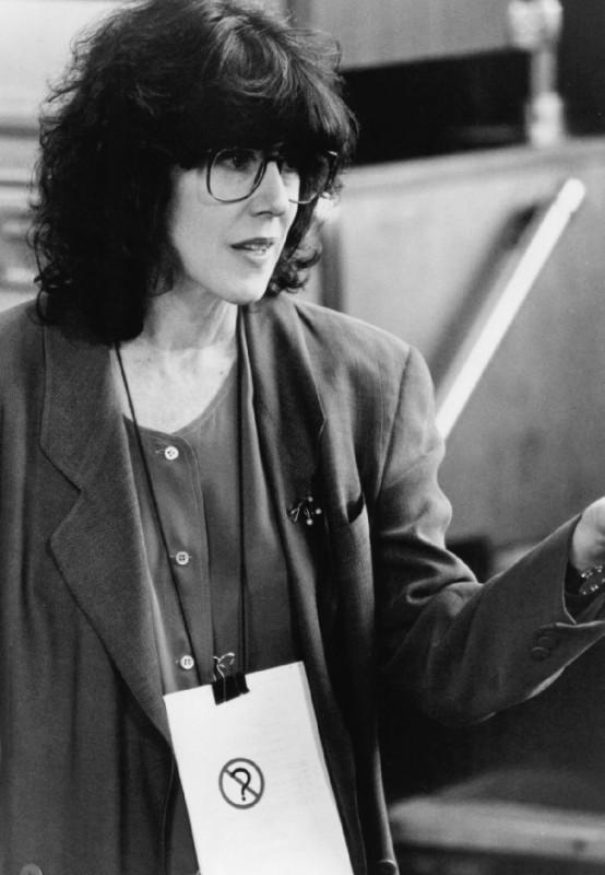 Nora Ephron sul set di Insonnia d'Amore