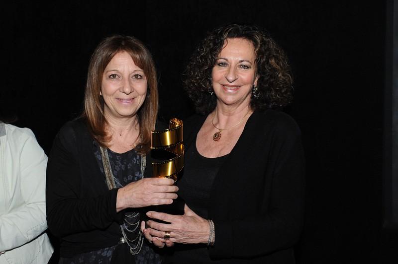 Premio La Pellicola d'Oro 2013 - Miglior Sarta di Scena - Maria Antonietta Salvatori - Premia la Costumista Graziella Pera