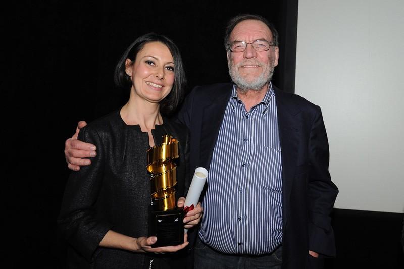 Premio La Pellicola d'Oro 2013 - Miglior Sartoria - Tirelli Costumi premia Manlio Rocchetti