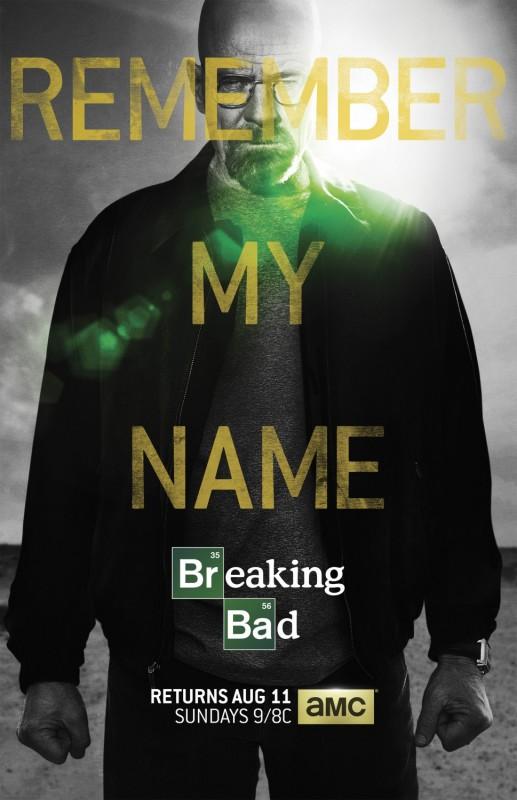 Breaking Bad: il poster della seconda parte della quinta ed ultima stagione