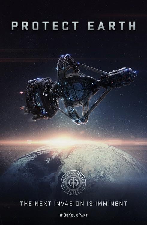 Ender's Game: propaganda poster numero tre
