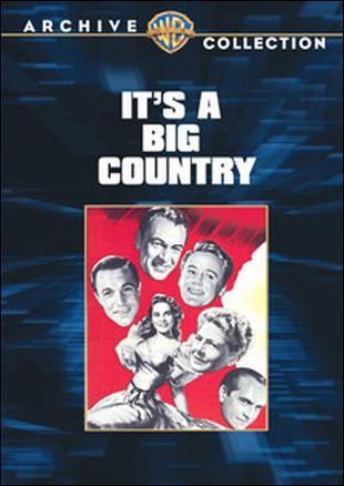 It's a Big Country: la locandina del film