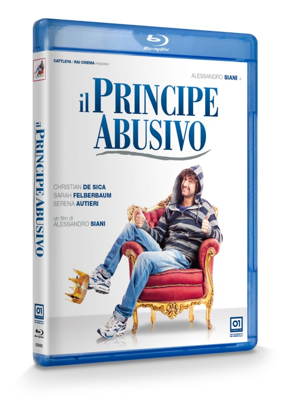 La copertina di Il principe abusivo (blu-ray)