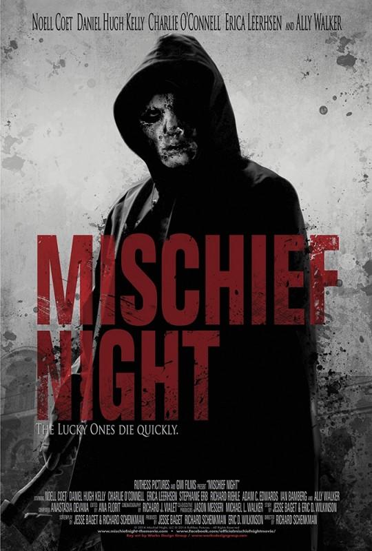 Mischief Night: la locandina del film
