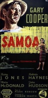 Samoa: la locandina del film