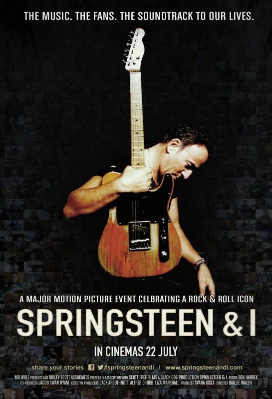 Springsteen & I: la locandina internazionale