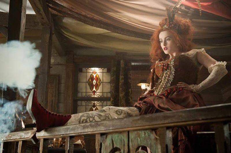 The Lone Ranger: Helena Bonham Carter nei panni di Red in una scena