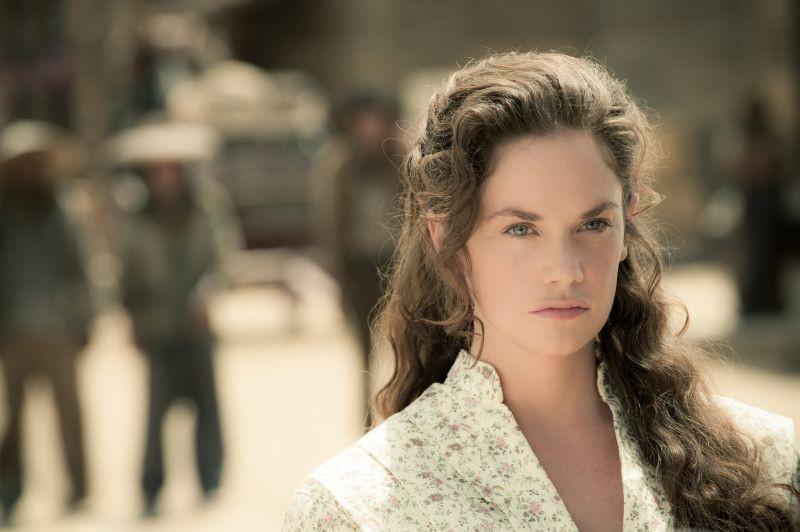 The Lone Ranger: Ruth Wilson nei panni di Rebecca in un primo piano tratto dal film