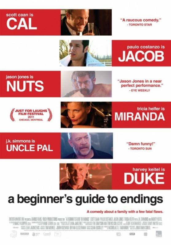 A Beginner's Guide to Endings: la locandina